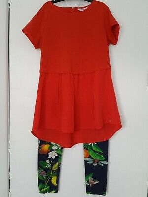 Ted Baker Girls Top And Leggings Age 11-12 Years
