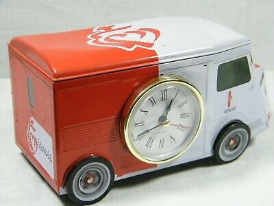 A Quartz Clock made from French Delivery Van from the 1950's