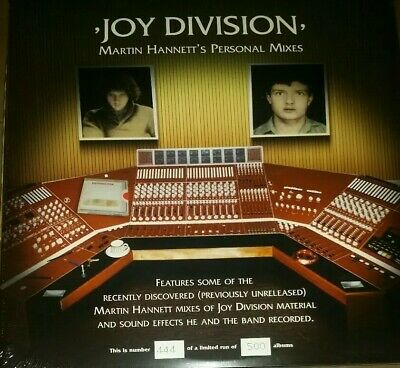 Joy Division - Martin Hannett's personal mixes - 2LP Limited - Orange