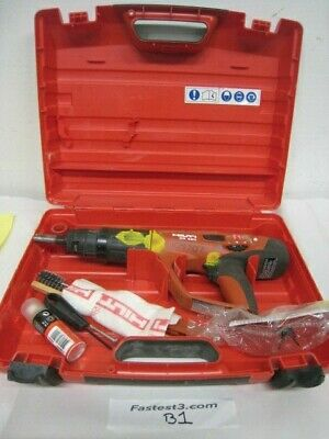 Hilti DX-460 concrete fastener nailer powder actuated gun with case (#2)