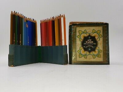 Vintage A.W. FABER-CASTELL Polychromos No. 9215 Set Among the Rarest in Orig Box