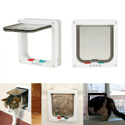 Intelligent Cat & Dog Flap Door for Interior/Exterior Doors Lock for Pets