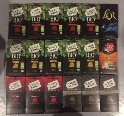 180 Capsules Carte Noire -L'or Et Legal Compatibles Nespresso