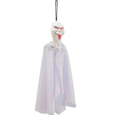 2 Pcs Halloween Scary Hanging Ghost Horror Black or White Scene Layout Props