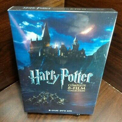 Harry Potter: Complete 8-Film Collection (DVD,2011,8-Disc Set) NEW-Free SHIPPIN~