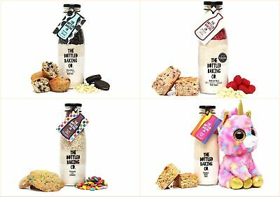 Home Baking Cake Muffin Cookie Mix Gift in a Bottle