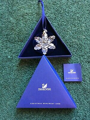 Swarovski 2008 Annual Edition Christmas Ornament