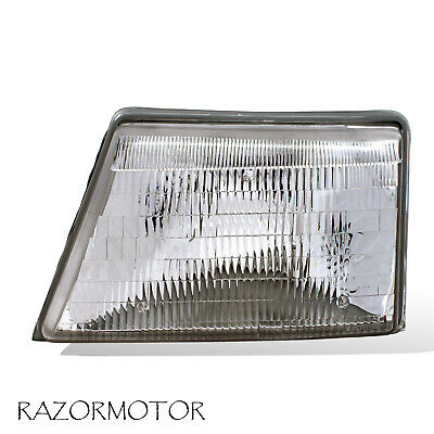 1998-2000 Replacement Driver Side Headlight For Ranger Pickup Truck w/Bulb