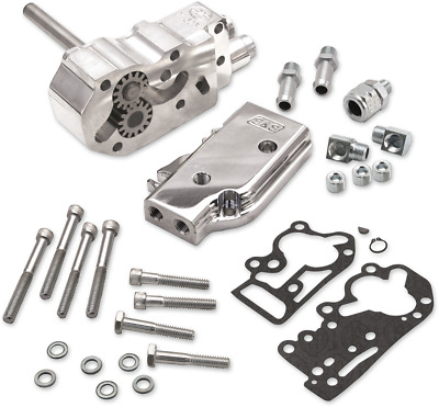 Billet Oil Pump Kit/Universal Cover S & S Cycle