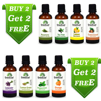 Essential Oils - 100% Pure Aromatherapy Grade - 10 Ml Buy 2 Or 3 Get 2 Or 3 Free