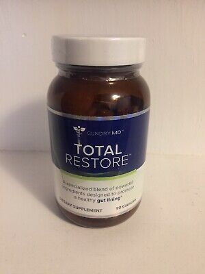Dr. GUNDRY MD TOTAL RESTORE 90 Capsules 1 Bottle Made In USA Free Shipping