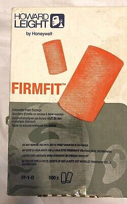 Howard Leight FirmFit Earplug Refill for Leight Source 500 Dispense New Other
