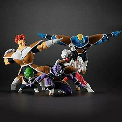BANDAI Dragonball HG figure resin The Ginyu Force 5 set F/S NEW w/scouter case