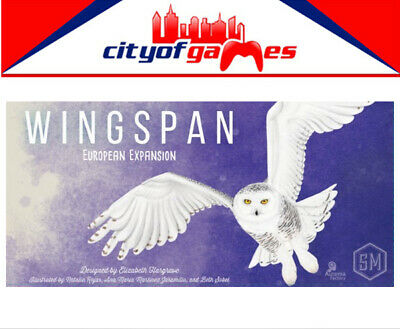 Wingspan European Expansion Board Game Brand New In Stock