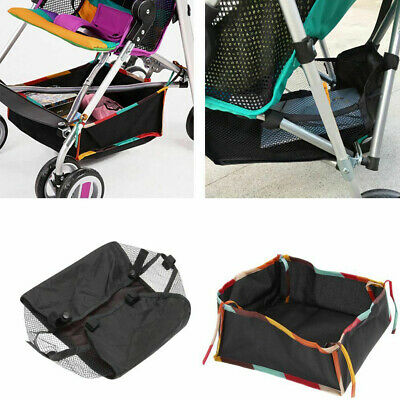 Stroller Pram Pushchair Baby Organiser Basket Bag Storage Cup Bottle Holder