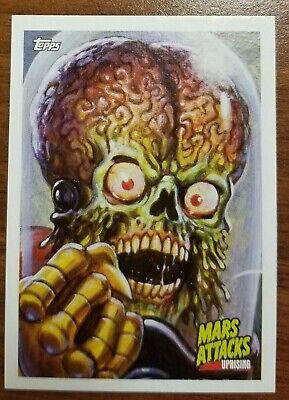 NYCC 2019 exclusive MARS ATTACKS ALIEN promo card TOPPS comic con UPRISING P2
