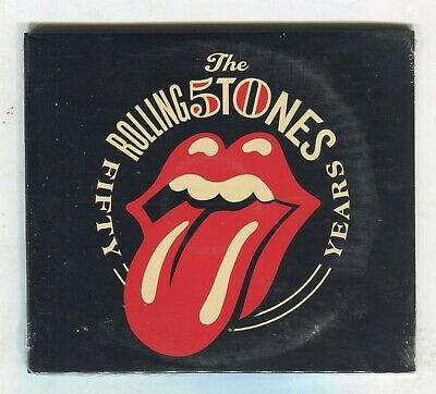 Rolling Stones Fifty years 50th Anniversary Ltd Ed 2 CD Set New