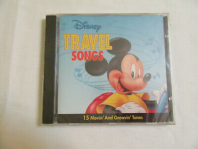 Disney Travel Songs 15 Movin' and Groovin' Tunes Mickey Mouse 1994