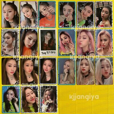 ITZY Yeji Lia Ryujin Chaeryeong Yuna IT'Z 1st Mini Album ICY Official Photocard