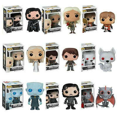 Game UK Kids Pop Thrones Toy Limited Of 8 Gift Edition Funko Vinyl Action Figure