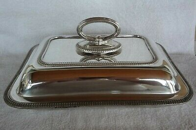vintage Silver Plate oval Entree Serving Dish mappin& webbs