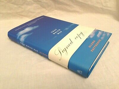 Glenn Patterson - SIGNED - That Which Was - 1st/1st 2004, Jacket and Belly Band