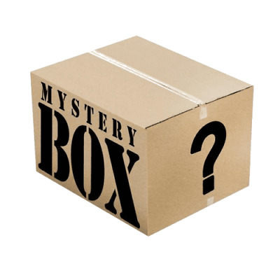 Box Mystery electronics, Gift gadgets novelty games homeware Min 18 items New