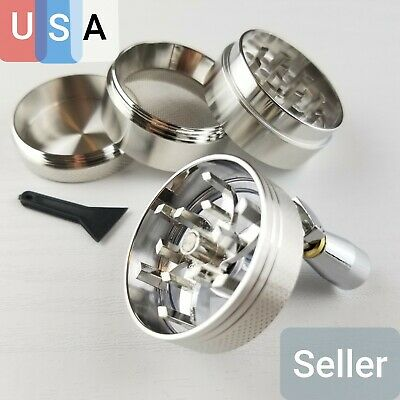 4 Layers Tobacco Herb Spice Grinder Herbal Zinc Alloy Hand shake Crusher small