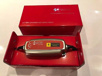 Brand New Genuine Ferrari Battery Charger OEM + Multiple Accessories
