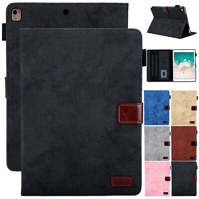 """For iPad 10.2"""" 7th Gen 2019 Leather Flip Case Stand Magnetic Card Holder Cover"""