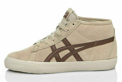 Onitsuka Tiger FADER by Asics Unisex Sneaker Schuhe Mid-Top braun/sand