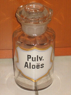 Apothekenflasche Pulv. Aloes, 300 ml