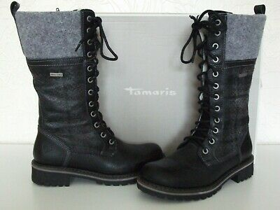 Tamaris Damen 26204 Graphite ankle Boots Uk Size 3 Eu 36