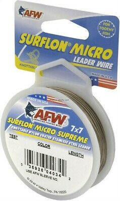 49 Strand Stainless Steel Black Vinyl Coated Cable 30ft  10 crimps 175lb-900lb