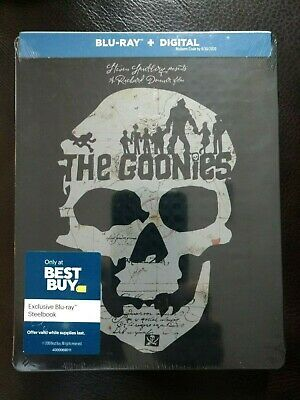 The Goonies Steelbook - 1985 - Best Buy Exclusive - Blu Ray + Digital Copy - NEW
