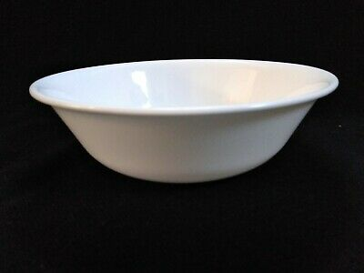 """USED Corelle White Round 6-1/4"""" Cereal Bowl"""