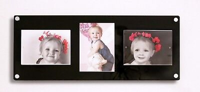 """7 x 5"""" Photo picture frame 5 x 7 magnetic frame ALL COLOURS / Cheshire Acrylic"""