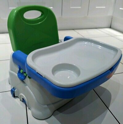 Fisher Price Portable Grow With Me Feeding Chair with Tray and Harness