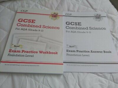 GCSE Combined Science AQA Grade 9-1 Exam Practice Workbook