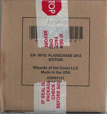 MTG Magic the Gathering - Factory Sealed - English Planechase  2012 Case Set (4)