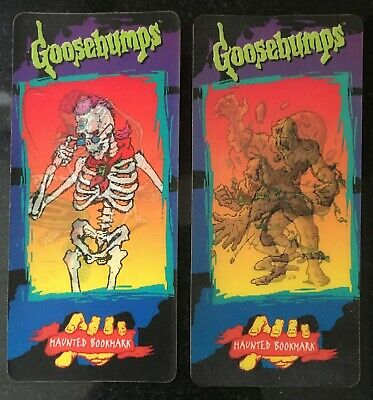 Goosebumps Haunted Bookmarks - The Mud Monster & Curly Master of Scaremonies