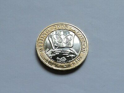 Rare £2 Pound Coin 2012 Olympic Games 2008 Beijing to London Handover Circulated