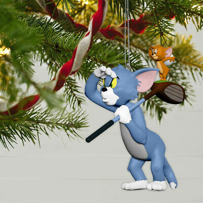 Hallmark Keepsake 2019 Tom and Jerry Tee for Two Ornament NEW IN BOX