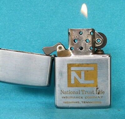 Very Collectable Vintage 1964 Chrome Advertising Zippo Lighter.