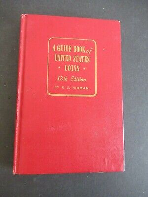 A Guide Book Of United States Coins 12Th Edition From 1959