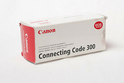 Canon Connecting Code 300 TTL flash cord for EOS film cameras