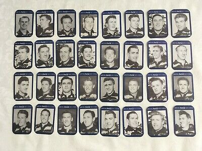 Vintage Set Of 32 x COCA COLA 1950's GEELONG Football Club Cards - Excellent