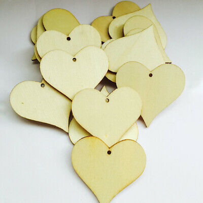 Wedding Decoration Decoupage Graffiti Wood Party Supplies Craft Tags Heart Shape