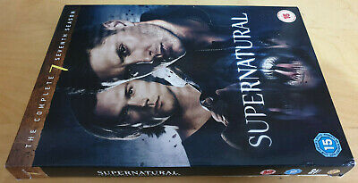Supernatural The Complete Seventh Season 7 Dvd Box Set Pal