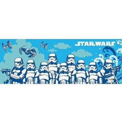 STAR WARS TENUGUI Japanese Cotton Fabric Hand Towel MADE IN JAPAN 90X34cm T25